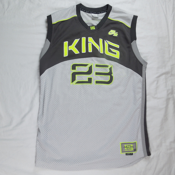 fd08c220fd8b Nike Shirts | Air Lebron James Jersey King 23 Size Large | Poshmark